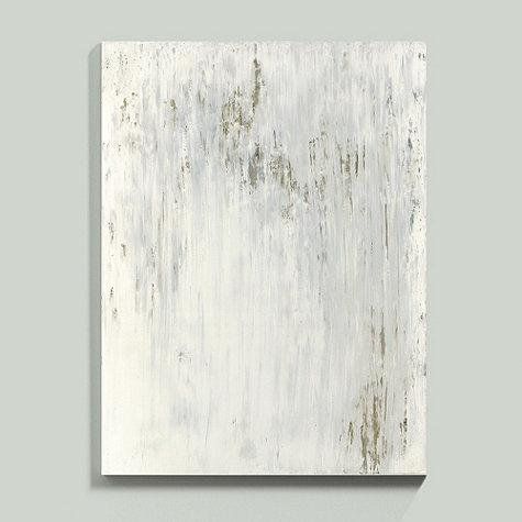 White Washed Abstract Art
