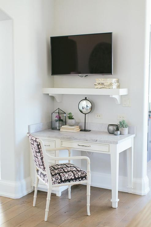 Tv Over Desk Design Ideas