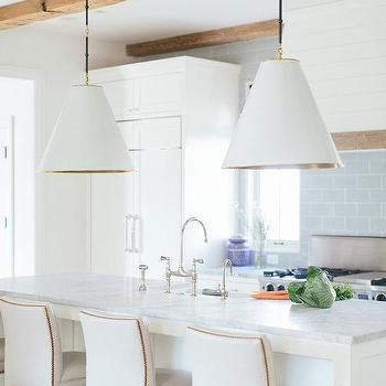 Surprising White Brass Nailhead Counter Stools Design Ideas Dailytribune Chair Design For Home Dailytribuneorg