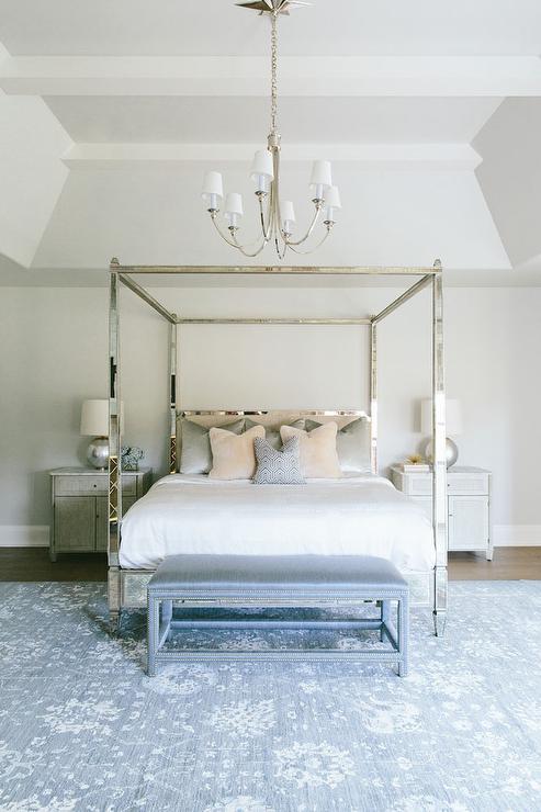 Nailhead Bedroom Bench