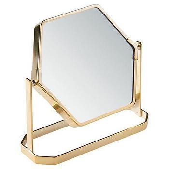 Hexagon Mirror West Elm