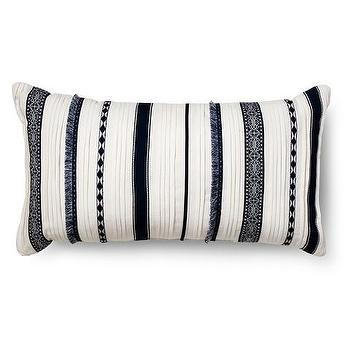 Threshold Gold Striped Pillow