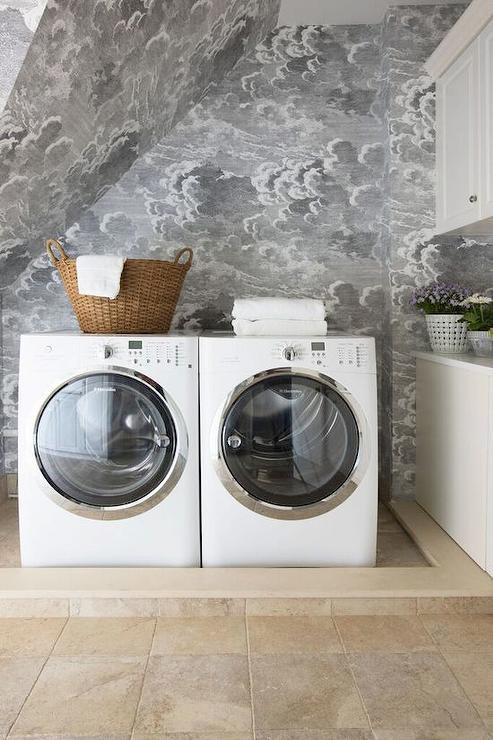 laundry room retro wallpaper - photo #43