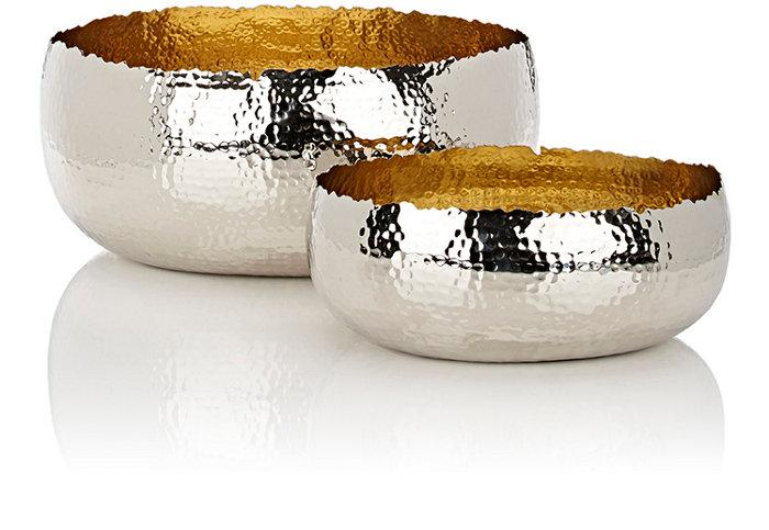 Tuvala Bowls Set Of Three Crate And Barrel