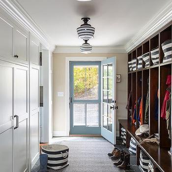 Dash And Albert Rugby Stripe Light Blue Indoor Outdoor Rug Design Ideas