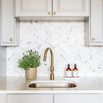 White marble alternative kitchen countertops design ideas