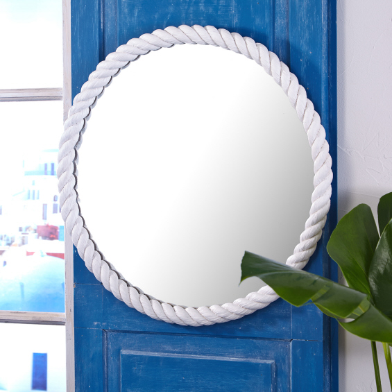 White look 4 less and steals and deals for White round wall mirror