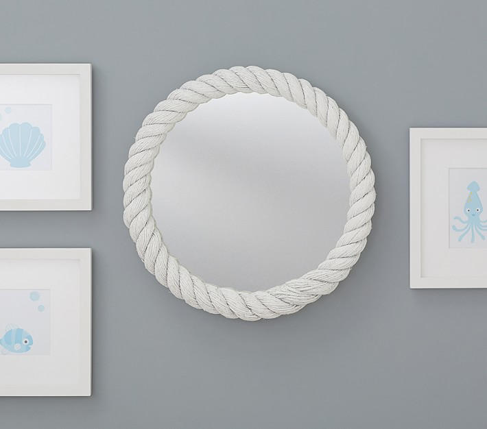 Rope mirror look 4 less and steals and deals for Decorative mirrors for less