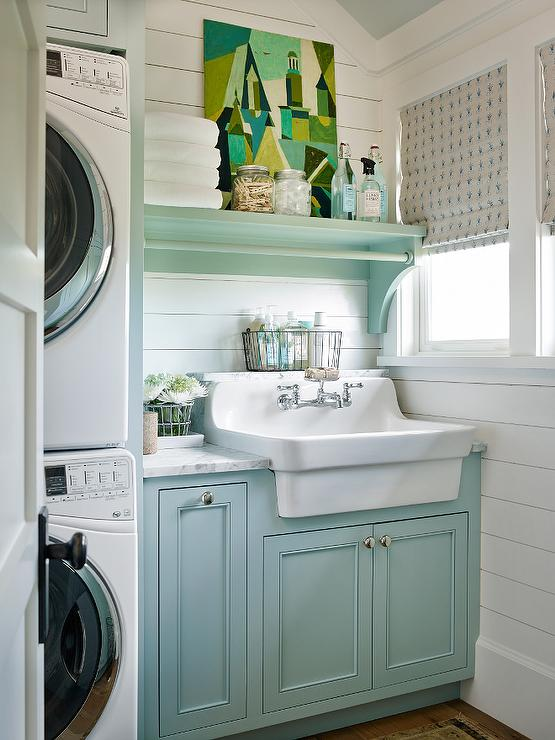 Laundry Room Shiplap Design Ideas