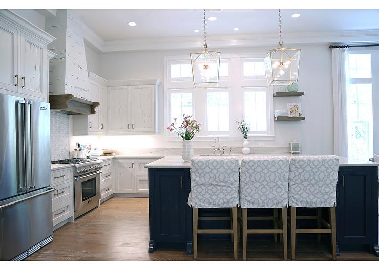 White Cottage Kitchen Cabinets