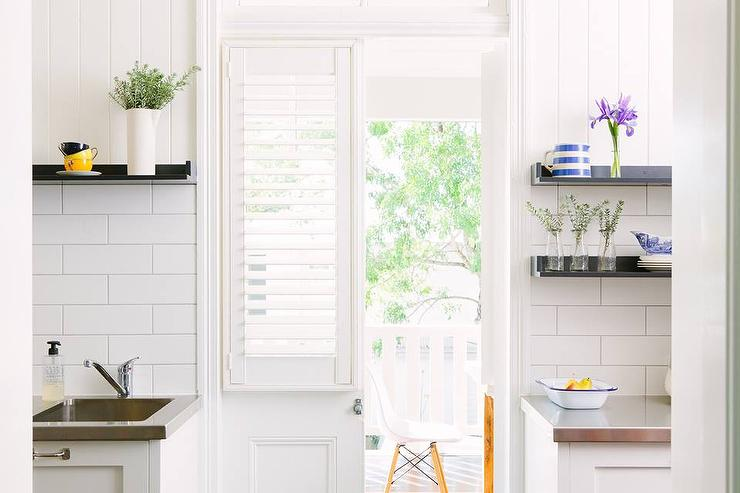 Kitchen Bi Fold Doors with Plantation Shutters & Kitchen Bi Fold Doors with Plantation Shutters - Transitional - Kitchen