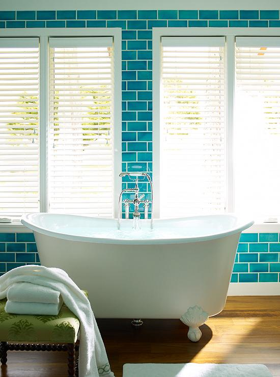 Turquoise Blue Subway Tiles View Full Size