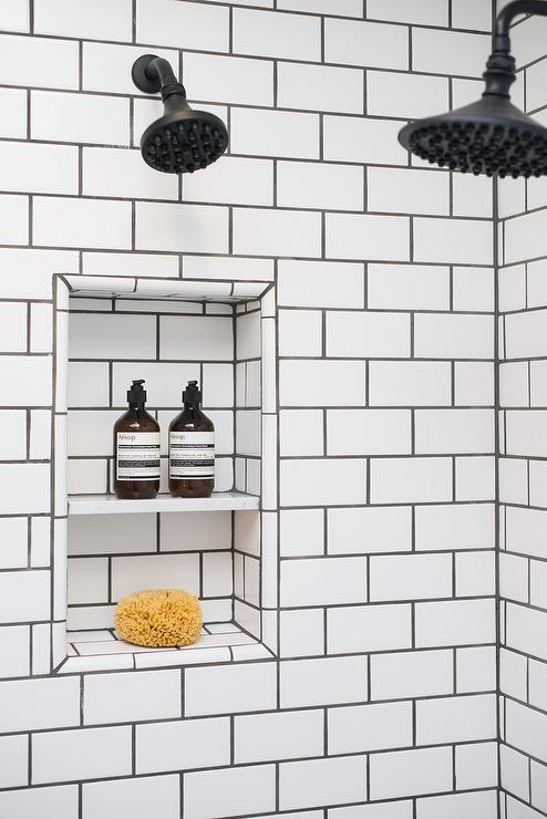 White Subway Tiles With White Grout Design Ideas