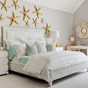 Mint Green Kid Bedding Design Ideas