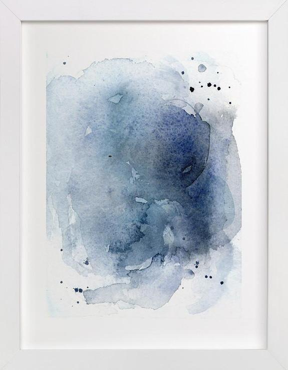 0e7f5317a57d0 Blue Watercolor Motif Art