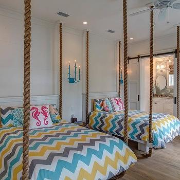 Rope Hanging Bed Hanging Rope Beds Design Ideas