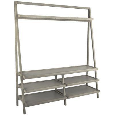 Blue Ladder Style Shelf