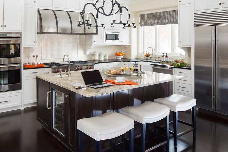 Chocolate Brown Cabinets - Contemporary - kitchen - Pieces Inc on solid surface countertops, quartz countertops, black countertops, marble countertops, agate countertops, corian countertops, granite countertops, copper countertops, metal countertops, stone countertops, silestone countertops, hanstone countertops, bamboo countertops, slate countertops, paperstone countertops, kitchen countertops, obsidian countertops, gray limestone countertops, butcher block countertops, concrete countertops,