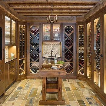 Rustic Wine Room Design Ideas