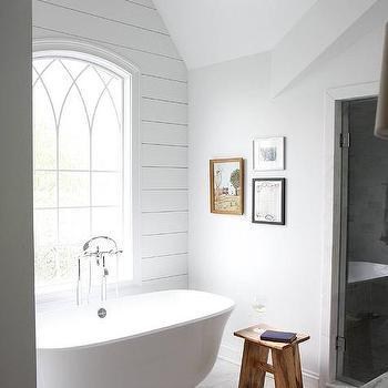 Arched Bathroom Window Design Ideas