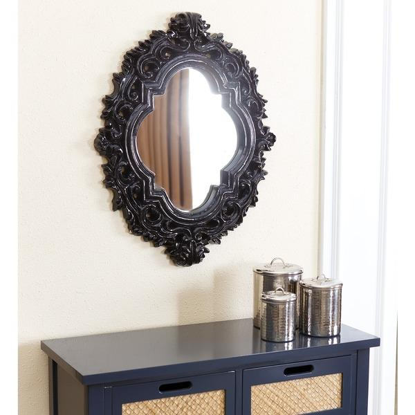 Black Wall Mirrors black iron wall mirror - products, bookmarks, design, inspiration