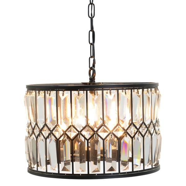 Driscoll 9light Multitiered Bronze and White Chandelier – Chandelier Bronze