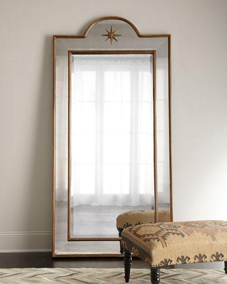 Bronze Frame Star Top Mirror