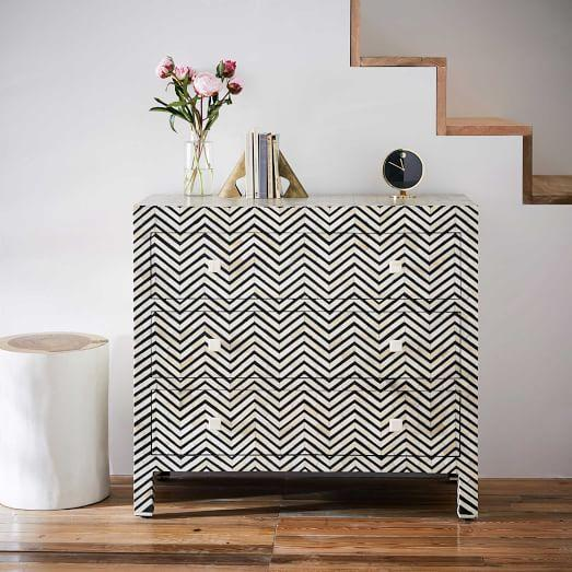 Bone Inlay Dresser Home And Patio Universal Grey Chest Of Drawers