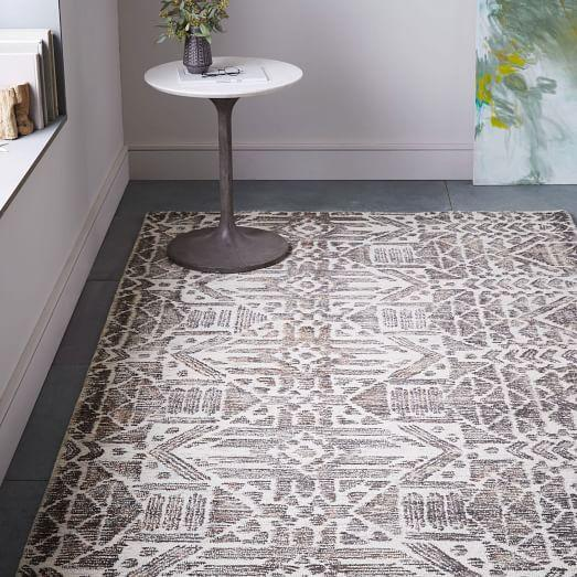 Tufted Gingko Rug Anthropologie Com