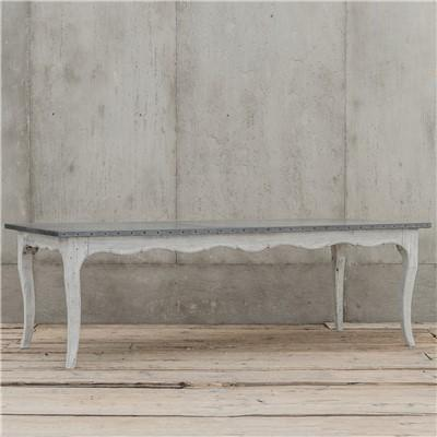 French White Washed Dining Table