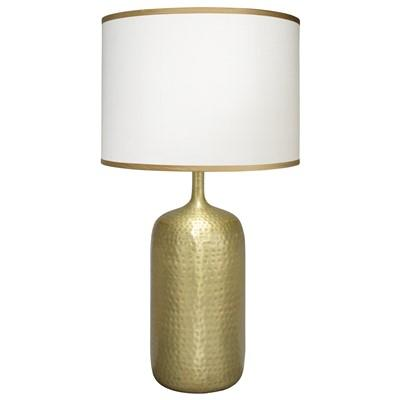 Gold Base Hammered Table Lamp
