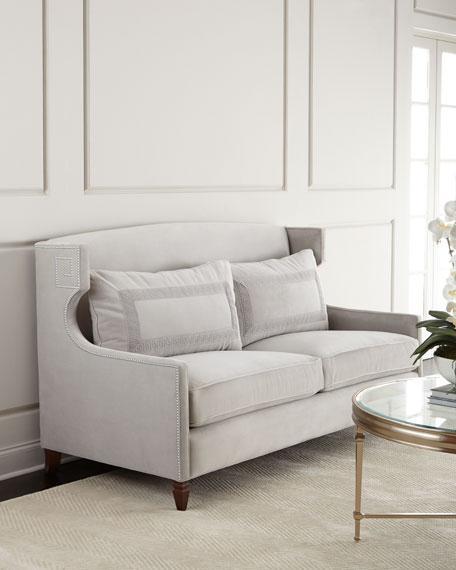 Barrington premium italian leather sofa and recliner seat