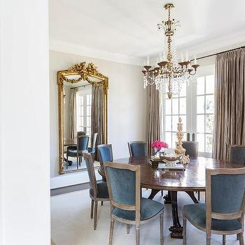 French Inspired Dining Room Design Ideas