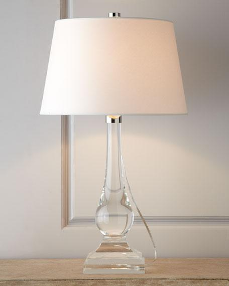 Bancroft Clear Crystal Lamp