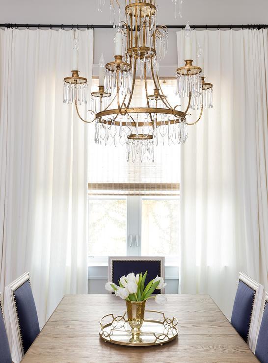 Dining Room Oil Rubbed Bronze Curtain Rod Design Ideas