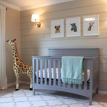 Beige Nursery Walls Design Ideas