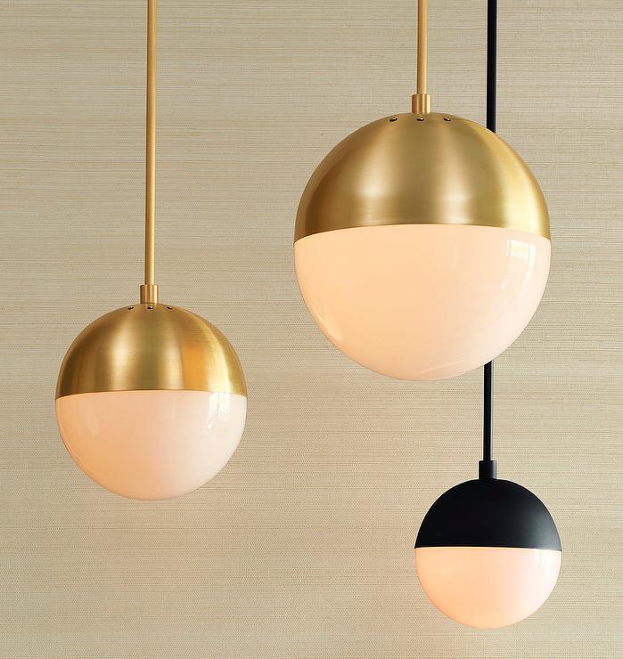 view full size - Globe Pendant Light