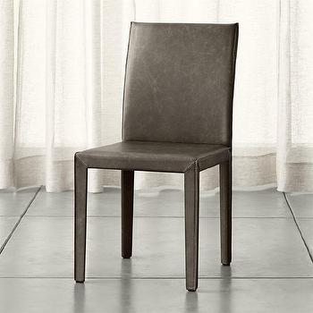 Curran side chair crate and barrel for Crate and barrel armless chair