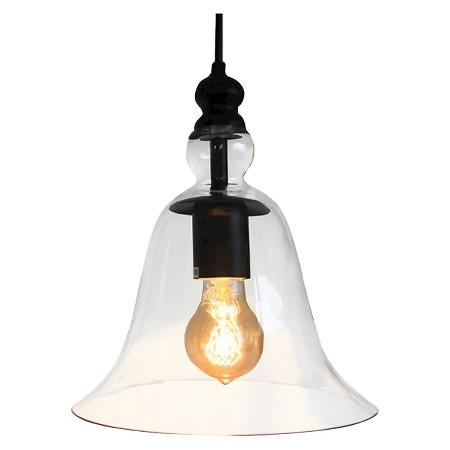 Bell Shaped Clear Glass Ceiling Light