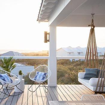 Enjoy Fresh Air First Floor Balcony Design