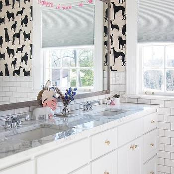 White Jack And Jill Bathrooms jack and jill bathroom pocket doors design ideas
