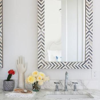 West Elm Wall Mirror west elm parsons wall mirror gray herringbone design ideas