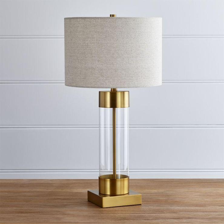 Brass usb port table lamp aloadofball Gallery