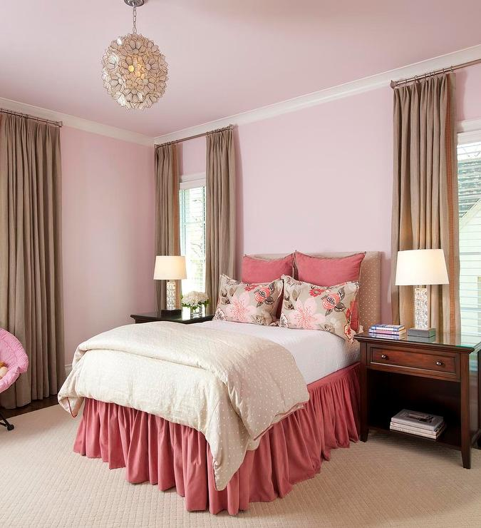 Tan Bedroom Decorating Ideas Bedroom Decor Contemporary Ceiling Lights For Bedroom Minnie Mouse Bedroom Wallpaper: Beige And Pink Design Ideas