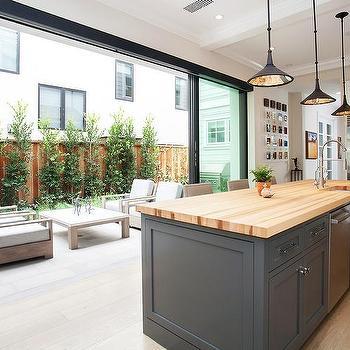 Kitchen Sliding Glass Patio Doors Design Ideas