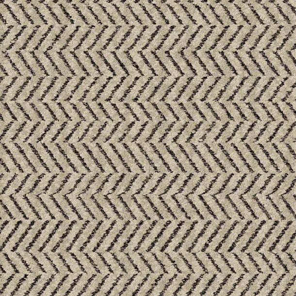 Black And Cream Zig Zag Carpet Tile