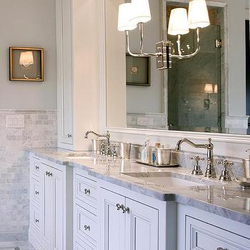 French Cross Handle Bathroom Sink Faucets Design Ideas