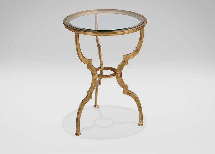 Sutton Gold Accent Table