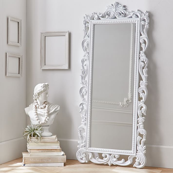 Floor Mirror - Look 4 Less and Steals and Deals.