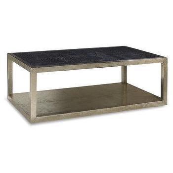 Abbyson living havana round ivory tufted leather coffee table Black leather coffee table